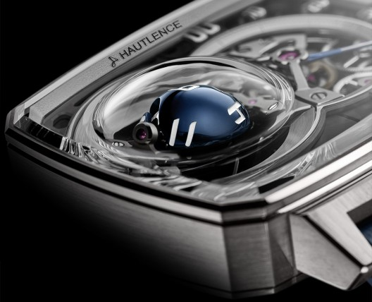HAUTLENCE REVOLUTIONISES THE HOUR DISPLAY BY GIVING TIME A NEW DIMENSION