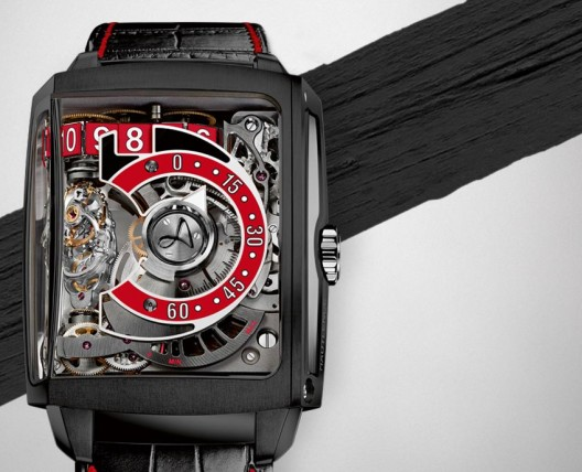 Hautlence launches HL2.5 – the new interpretation of HL2.0 in dramatic black and red