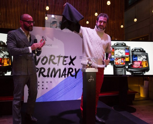 Hautlence unveils a new exceptional timepiece in partnership with Eric Cantona: Vortex Primary